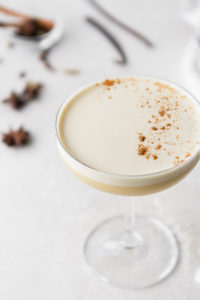 chai whiskey flip recipe