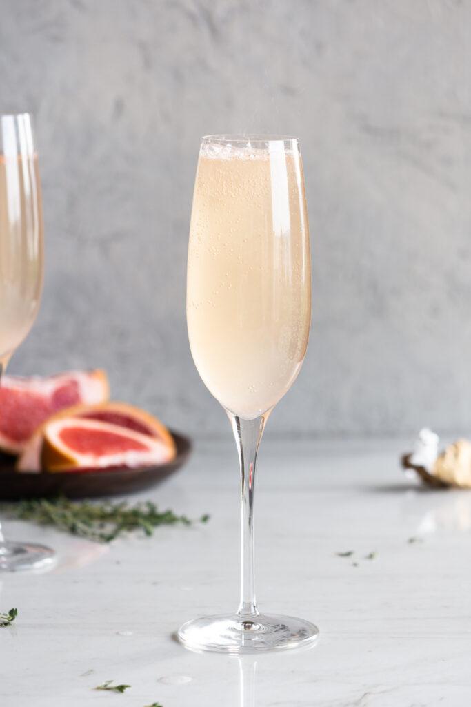 grand marnier grapefruit mimosa