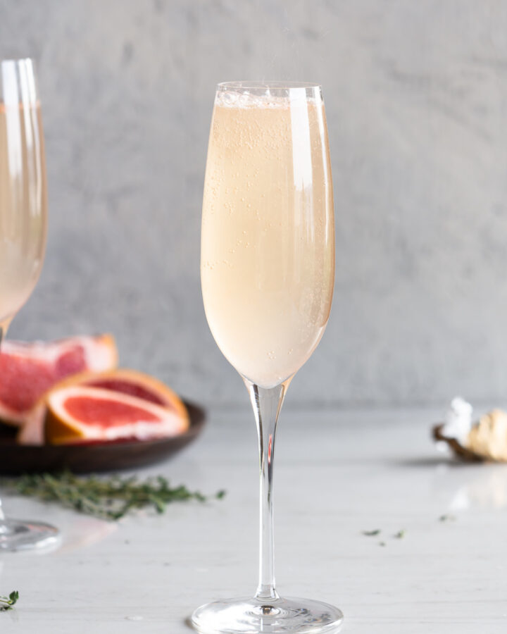 grand marnier grapefruit mimosa
