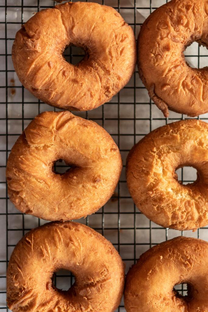 fried buttermilk cake donuts