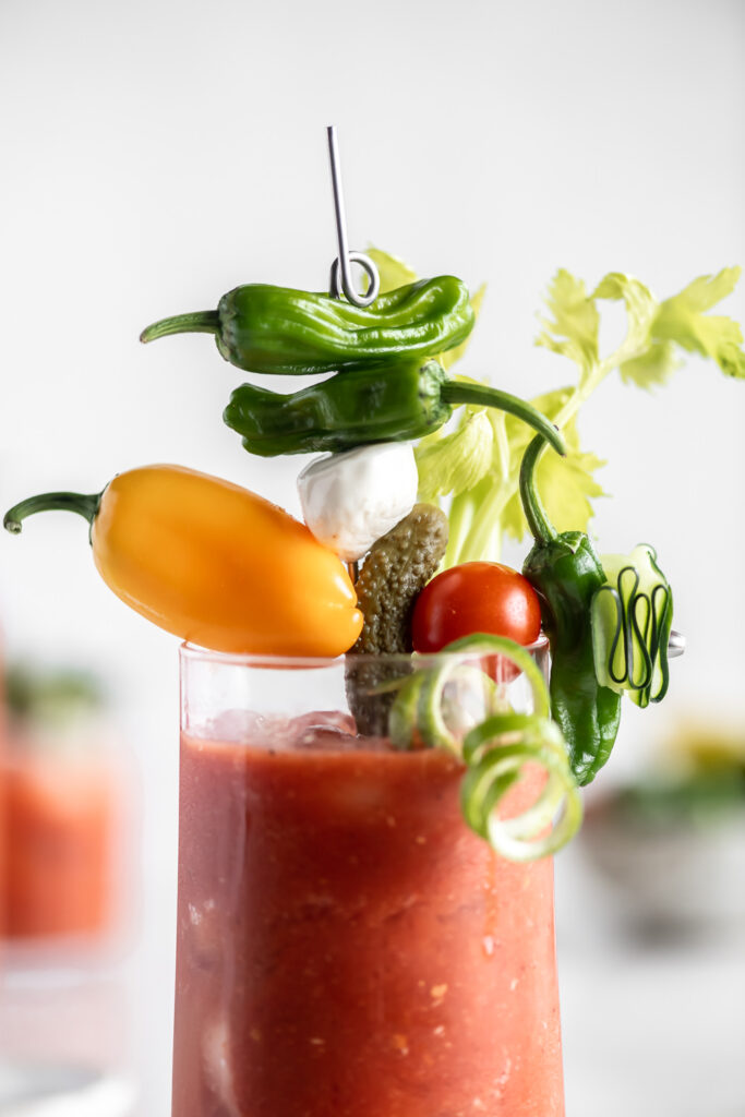 garnish ideas for homemade bloody mary