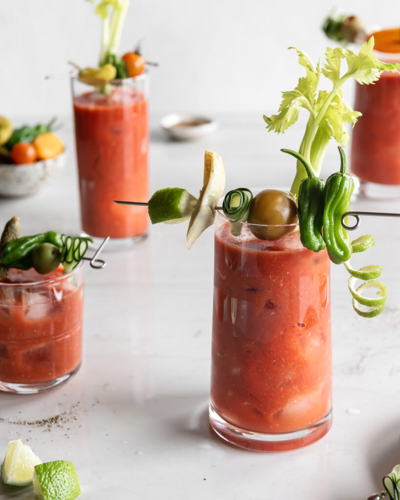 hot and spicy bloody mary mix