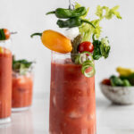 hot and spicy homemade bloody mary mix