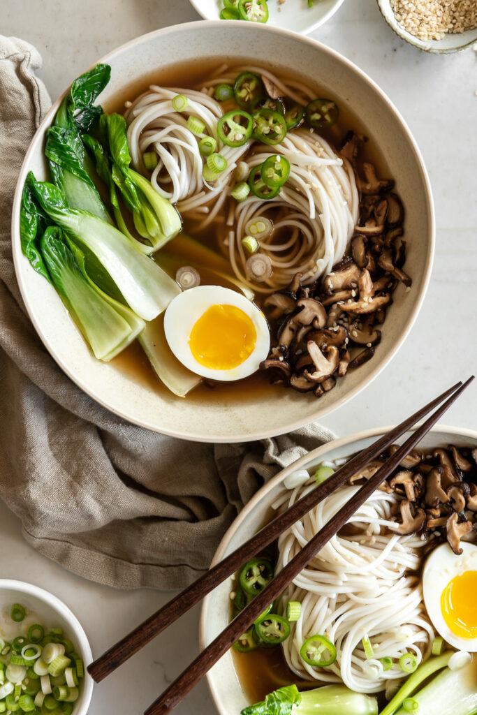 spicy miso udon soup recipe