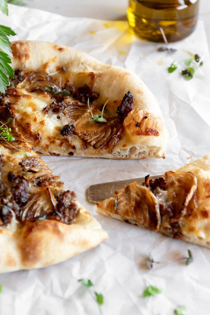 caramelized fennel sausage pizza recipe