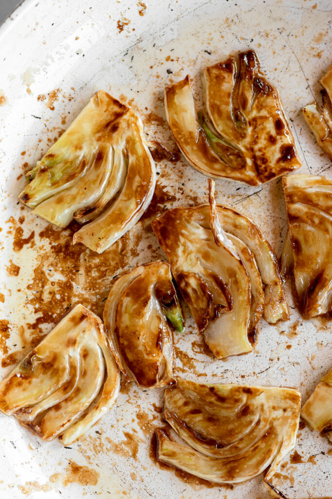 caramelized fennel slices