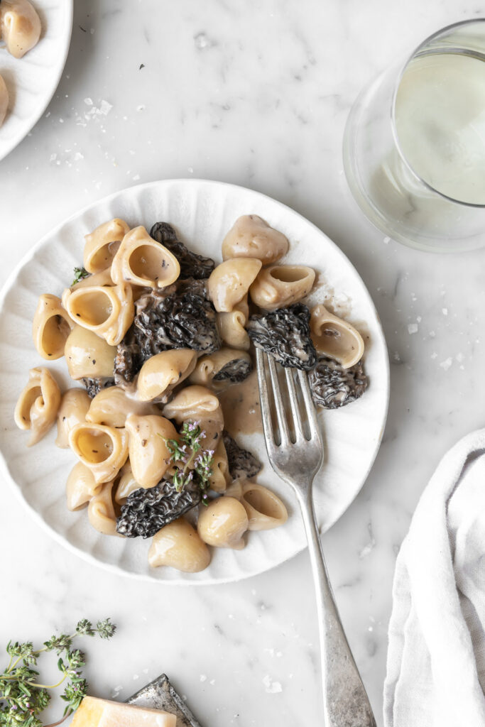 morel pasta recipe