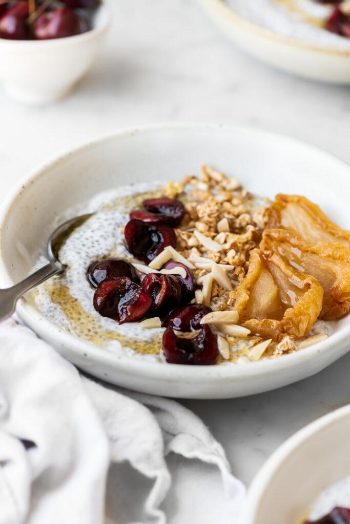 chia yogurt bowl recipe