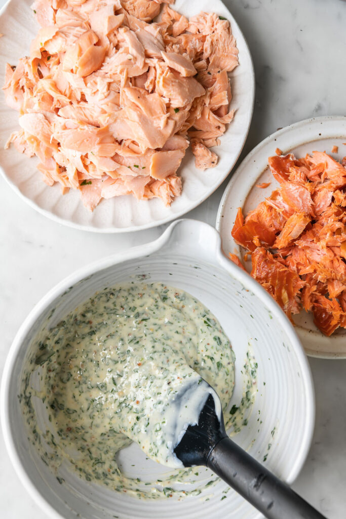 how to make salmon rillettes
