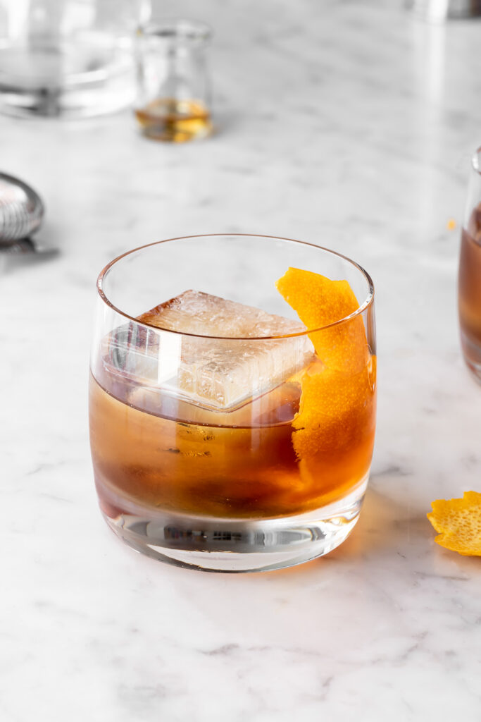 maple syrup old fashioned